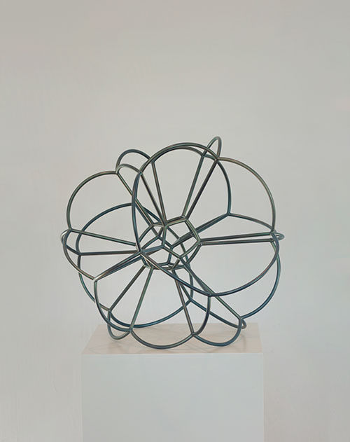 David Fried Abstract Sculpture  systemmer bubble