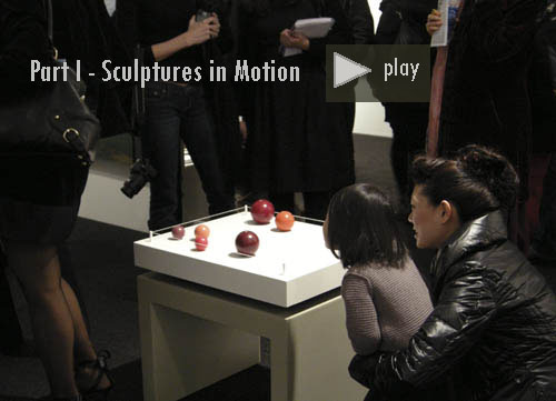 Videos: Kinetic interactive contemporary sculpture