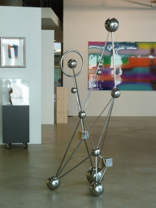 abstract art stainless steel sculpture